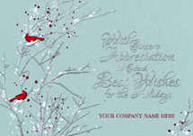 Sterling Serenity Holiday Cards